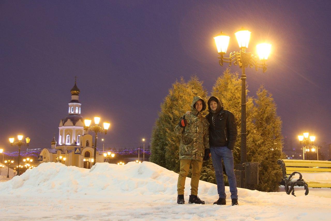 Ваня и Антон в Белгороде